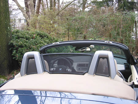 Z4 Windblocker Windscreen Amp Sunshields