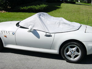 PREMIUM HD FULLY WATERPROOF CAR COVER COTTON LINED LUXURY BMW Z3 ROADSTER