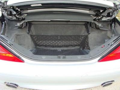 Mercedes benz trunk cargo accessories for the sl for Mercedes benz car trunk organizer