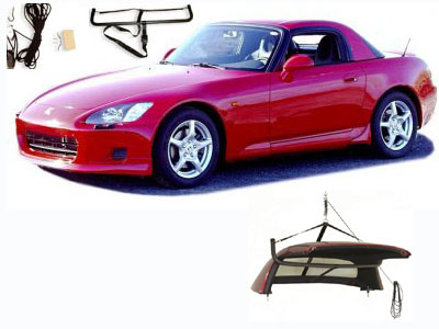 Accessories for the Honda S2000 by Roadster Solutions
