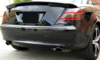 Accessories for the Mercedes Benz SLK 2005-2011 R171