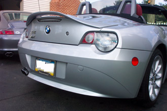 Z4 Trunk Rack Amp Rear Spoiler By Roadstersolutions