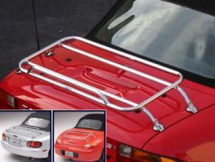 Mercedes benz trunk rack for the slk r170 for Mercedes benz car trunk organizer